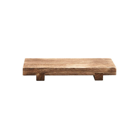 Housedoctor Craft Brown paulownia wood tray 36x22x5.5 cm