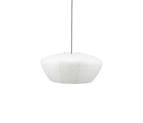 Housedoctor Lampenkap Bidar wit papier Ø81,5x38cm