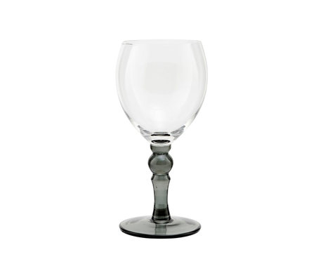 Housedoctor Red wine glass Meyer clear glass Ø7.5x18cm