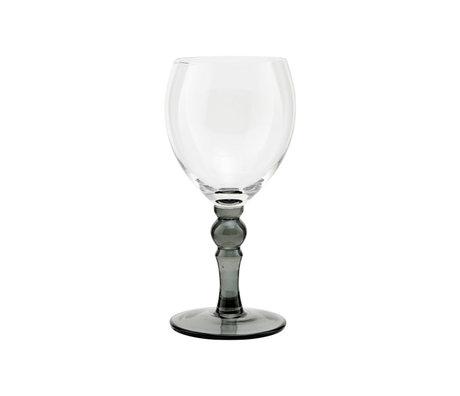 Housedoctor Rode wijn glas Meyer clear glas Ø7,5x18cm