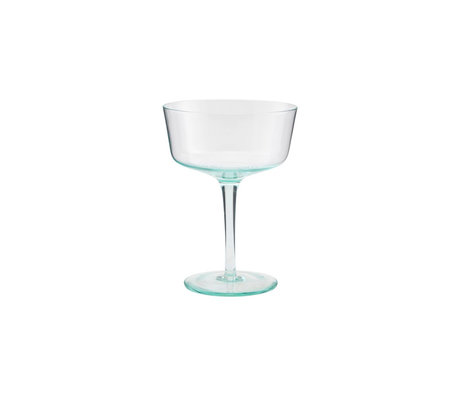 Housedoctor Cocktail glas Granz groen glas Ø11x15cm