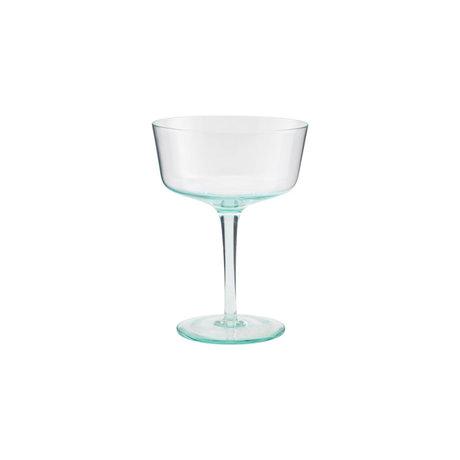 Housedoctor Cocktail glass Granz green glass Ø11x15cm