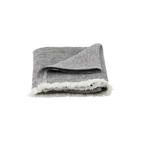 Housedoctor Towel Latur gray mixed cotton 100x50cm