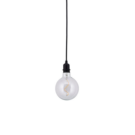 Housedoctor Cosa lamp black glass Ø12.5 cm