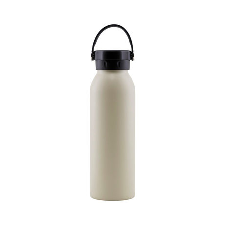 Housedoctor Thermos flask Corh brown beige stainless steel Ø7x20.5cm