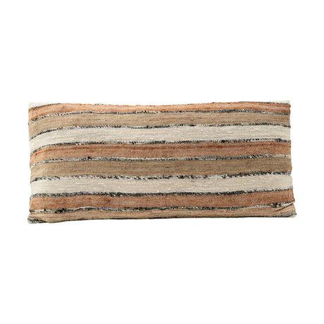 Housedoctor Taie d'oreiller Linn orange coton 40x75cm