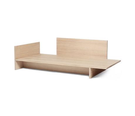 Ferm Living Bett Kona Eiche natur Furnier 97x206.5x65cm