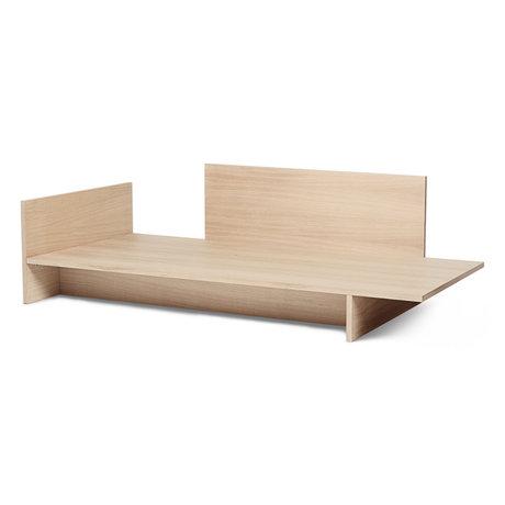 Ferm Living Lit Kona placage chêne naturel 97x206.5x65cm