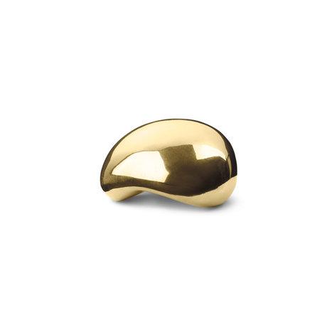 Ferm Living Sculpture Object brass 7.5x7.5x4.8 cm