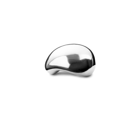 Ferm Living Sculpture Object stainless steel 7.5x7.5x4.8 cm