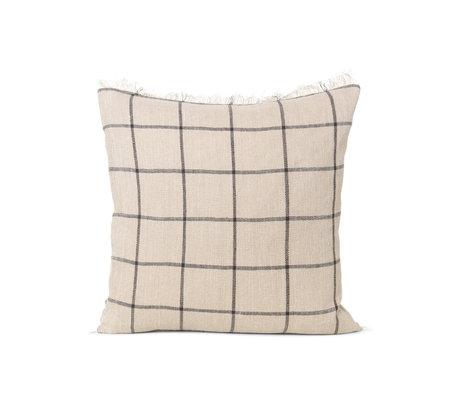 Ferm Living Cushion Calm camel textile 48x48cm