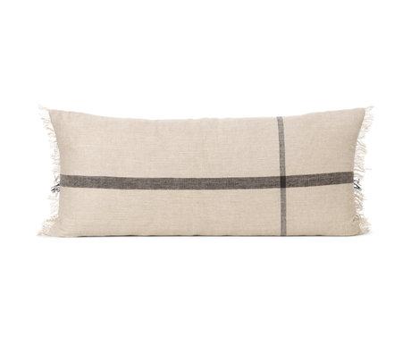 Ferm Living Cushion Calm camel textile 88x38cm