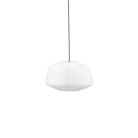 Housedoctor Lampenkap Bidar wit papier Ø50x32cm