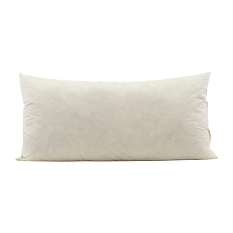 Housedoctor Inner filling cushion cream white cotton 80x40cm