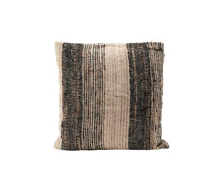 Housedoctor Taie d'oreiller Linn gris coton 50x50cm