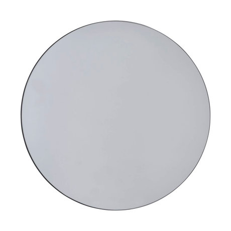 Housedoctor Spiegelwände grau Glas Ø110cm