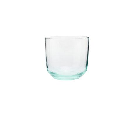 Housedoctor Glas Ganz groen glas Ø9x8cm