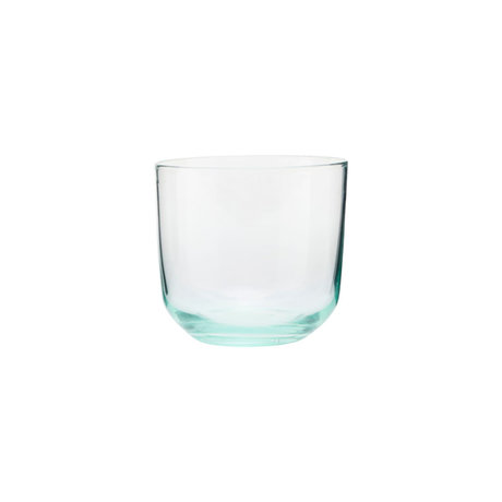 Housedoctor Glas Ganz grünes Glas Ø9x8cm