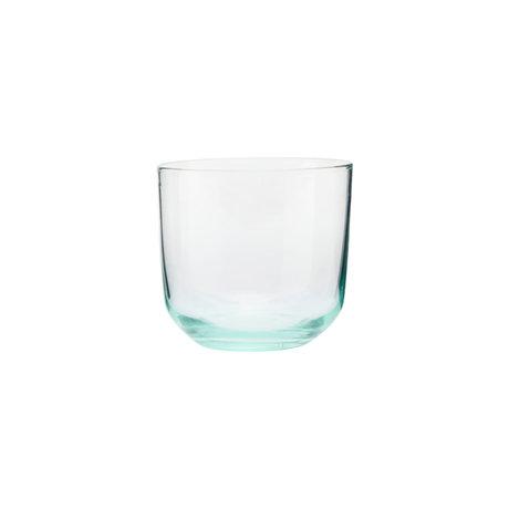 Housedoctor Glass Ganz green glass Ø9x8cm