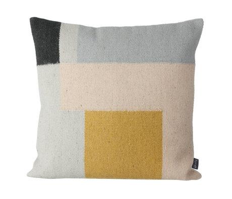 Ferm Living Throw pillow Kelim Squares 50x50cm