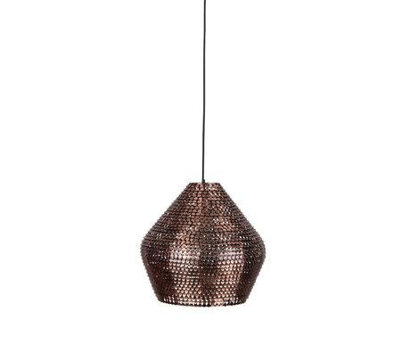 Dutchbone Hanglamp Cooper koper L Ø35x150cm