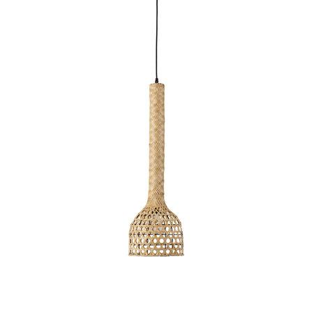 Dutchbone Hanglamp Boo naturel bruin bamboo Ø22,5x155cm