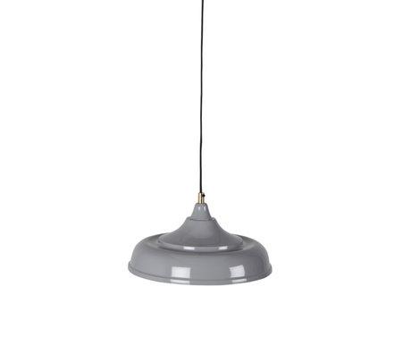 Dutchbone Hängelampe Sally grau Metall Ø34,5x165cm