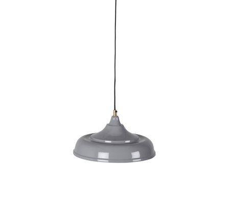 Dutchbone Suspension Sally gris métal Ø34,5x165cm