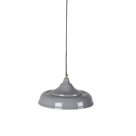 Dutchbone Hanging lamp Sally gray metal Ø34,5x165cm