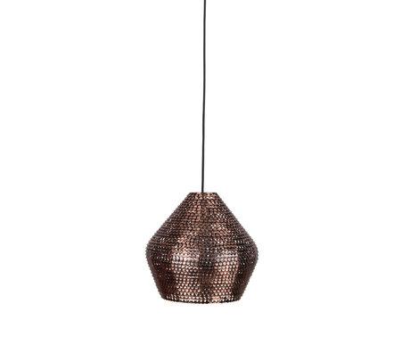 Dutchbone Hanglamp Cooper koper M Ø30x150cm