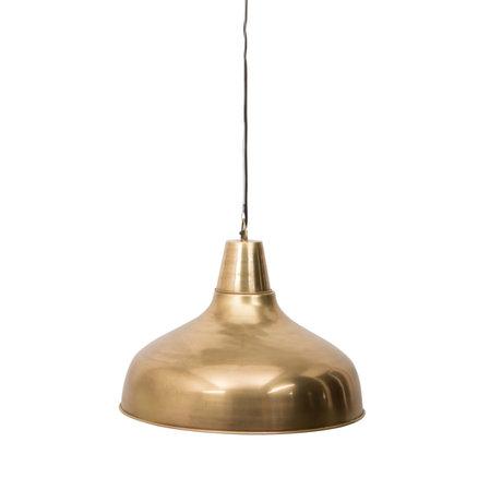 Dutchbone Mania Messing Gold Metall Hängelampe Ø51x185cm