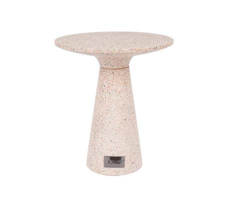 Zuiver Side table Victoria pink concrete Ø41x47cm