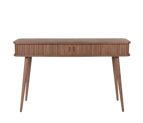 Zuiver Sidetable Barbier Console donkerbruin hout 120x35x74cm