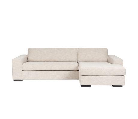 Zuiver Canapé Fiep droit beige textile 275x97 / 151x80cm