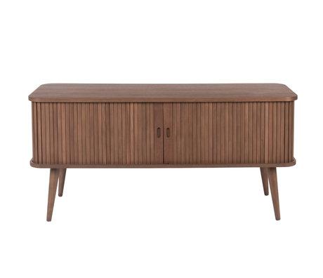 Zuiver Dresser Barbier dark brown wood 120x40x57.5cm