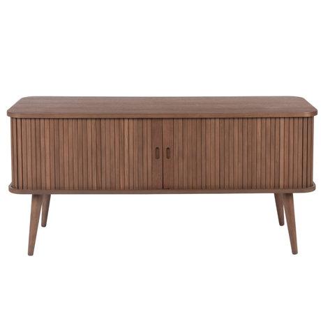 Zuiver Dressoir Barbier donkerbruin hout 120x40x57,5cm