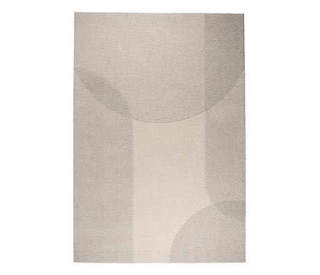 Zuiver Carpet Dream beige gray textile 200x300cm