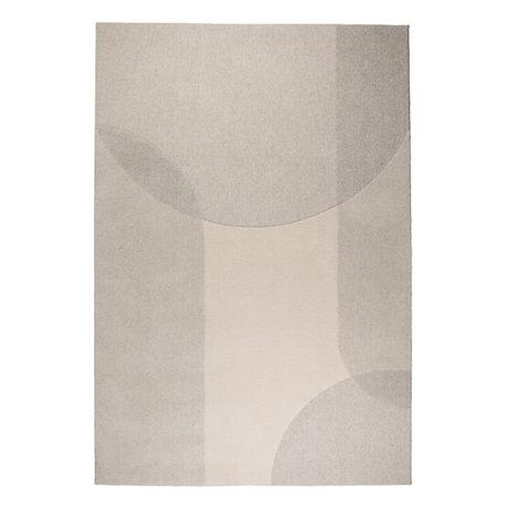 Zuiver Tapis Dream beige gris textile 200x300cm