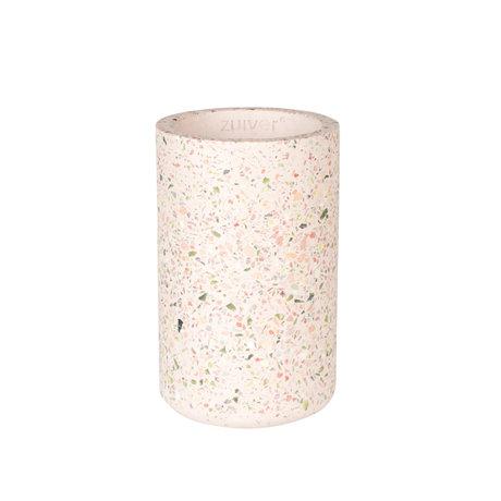 Zuiver Vase Fajen rosa Beton Ø15x25cm