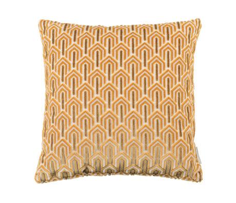 Zuiver Kissen Beverly gelbes Textil 45x45cm