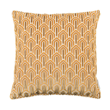 Zuiver Kussen Beverly geel textiel 45x45cm