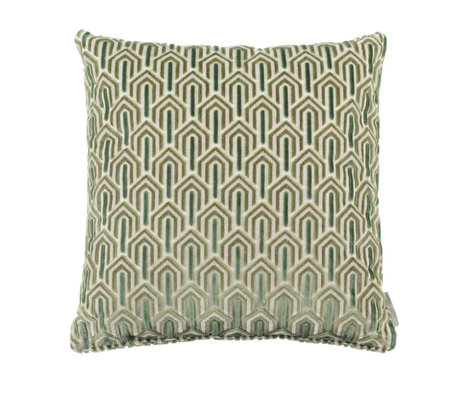 Zuiver Kussen Beverly groen textiel 45x45cm