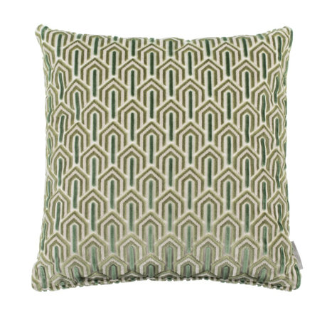 Zuiver Cushion Beverly green textile 45x45cm