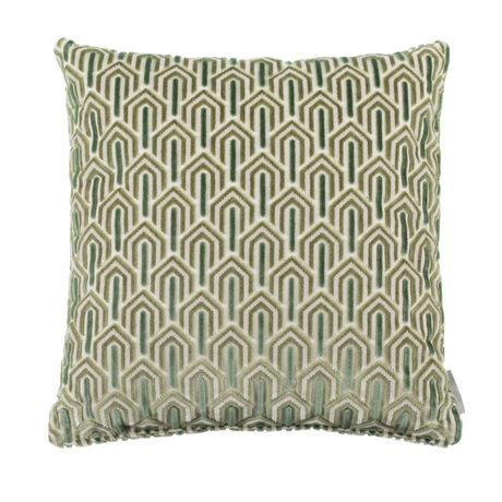 Zuiver Kissen Beverly grünes Textil 45x45cm