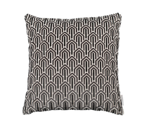 Zuiver Coussin Beverly textile noir 45x45cm