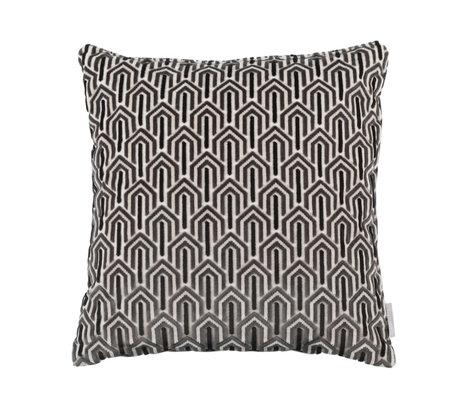 Zuiver Kissen Beverly schwarz Textil 45x45cm