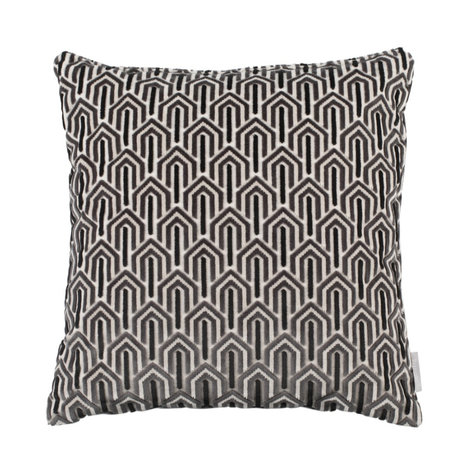 Zuiver Cushion Beverly black textile 45x45cm