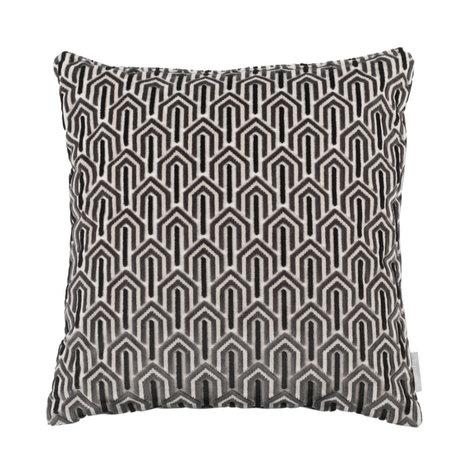 Zuiver Kussen Beverly zwart textiel 45x45cm