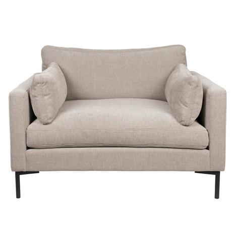 Zuiver Armchair Summer beige textile 125x101x82cm