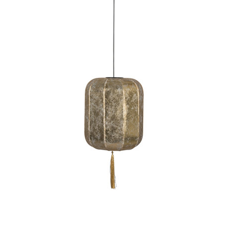 Dutchbone Hanglamp Suoni goud L ijzer Ø40x185cm